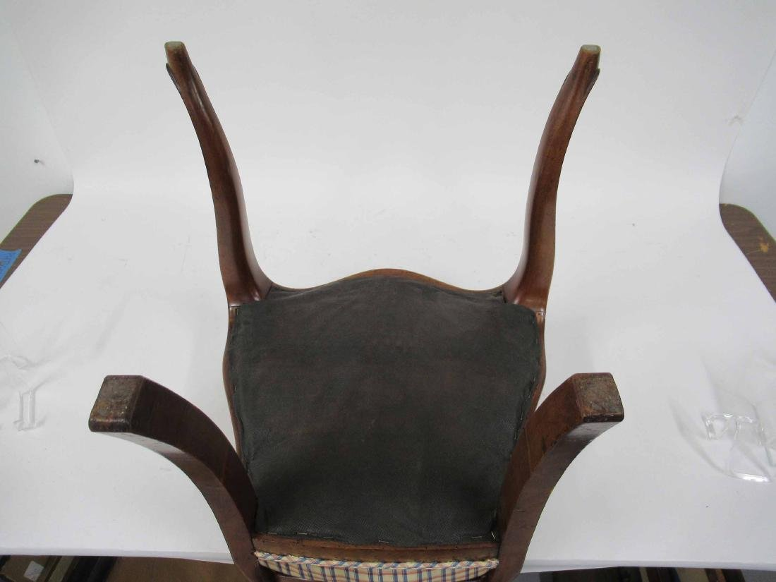 Four Louis XV Style Armless Dining Chairs - 6