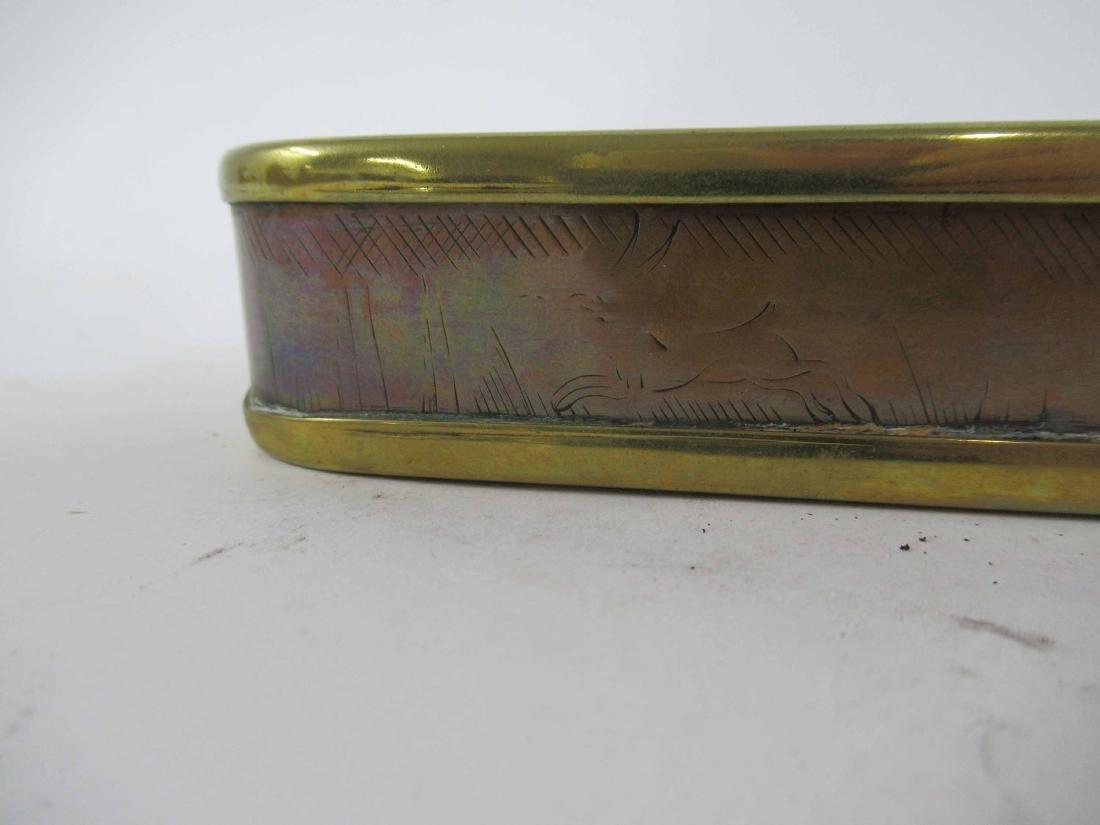 Brass Oval Box - 3
