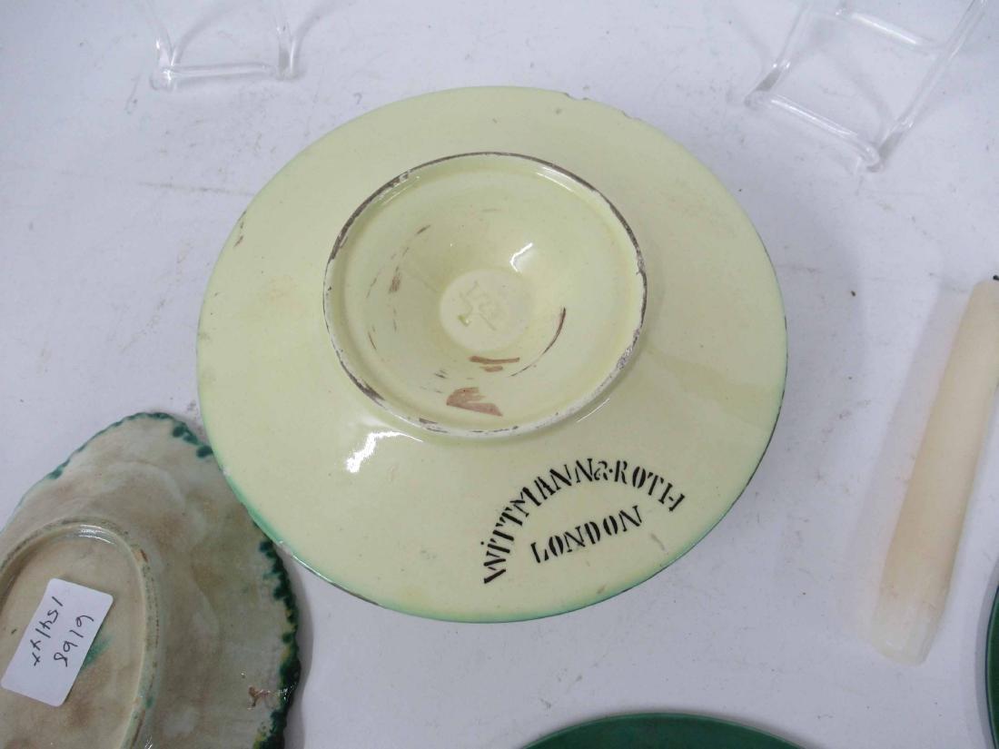 Wittman & Roth Ceramic Chamber Stick & Snuffer - 10