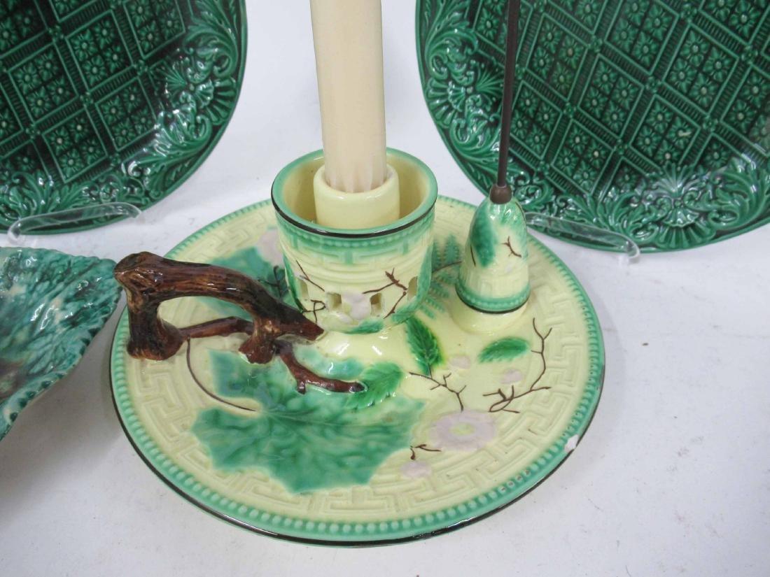 Wittman & Roth Ceramic Chamber Stick & Snuffer - 3