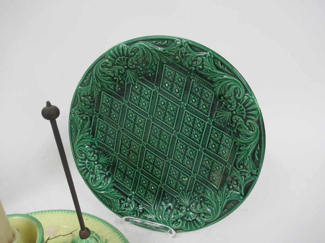 Wittman & Roth Ceramic Chamber Stick & Snuffer - 5