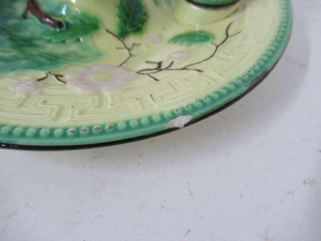 Wittman & Roth Ceramic Chamber Stick & Snuffer - 9