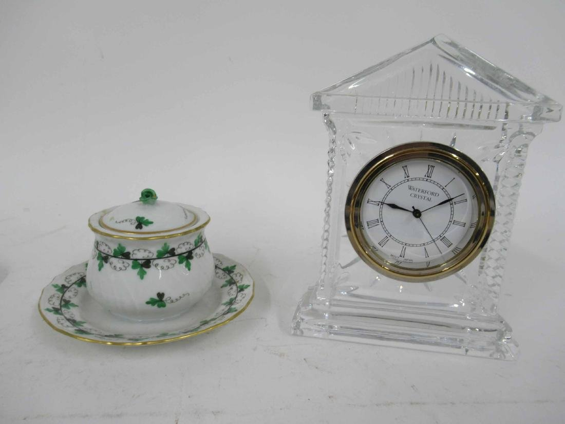Herend Green and White Covered Dish - 2