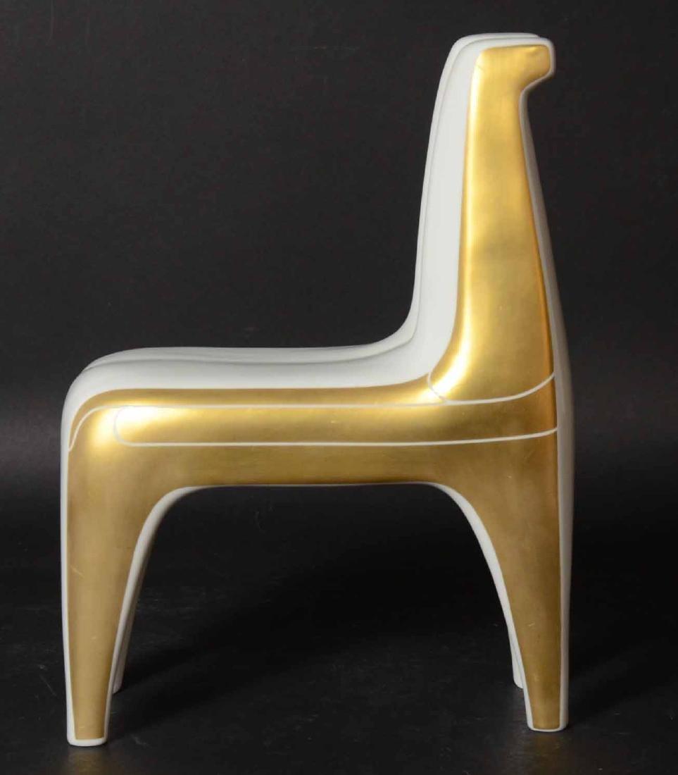 Bing & Grondahl Porcelain Double Horse Figure