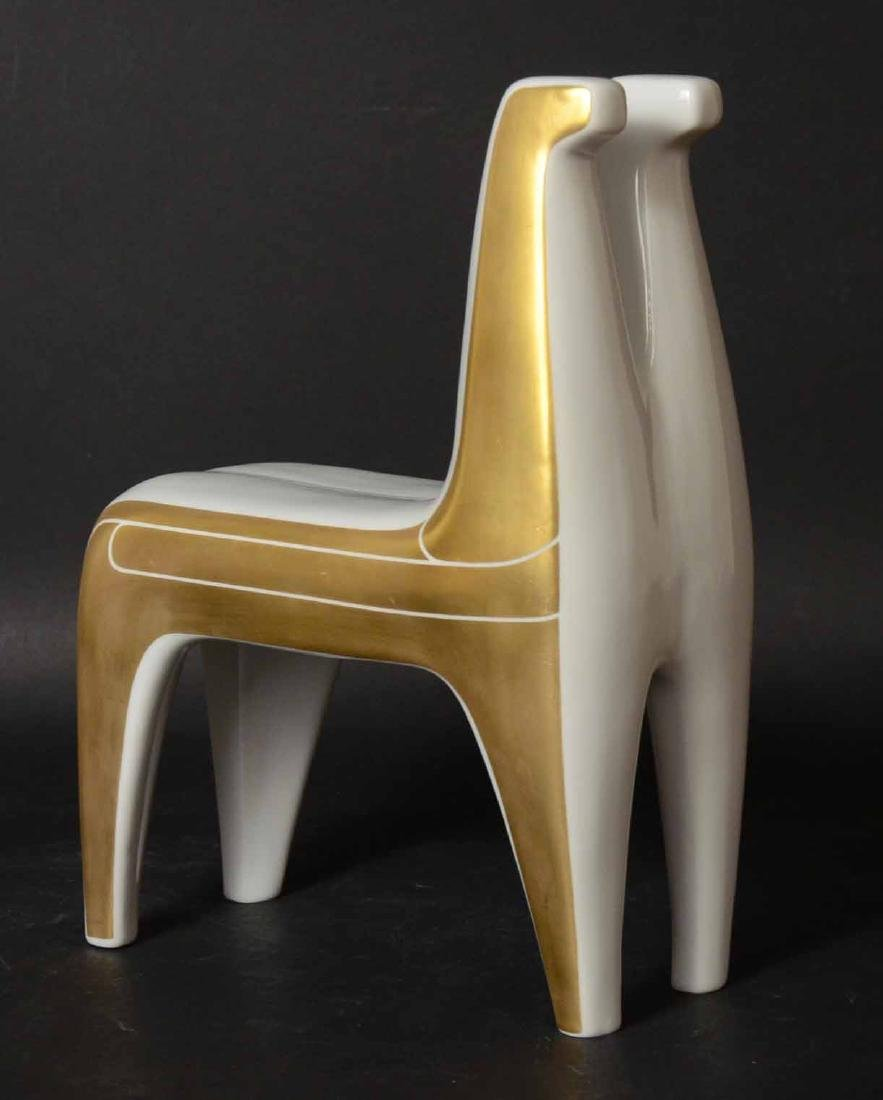 Bing & Grondahl Porcelain Double Horse Figure - 2