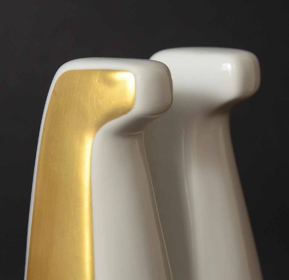 Bing & Grondahl Porcelain Double Horse Figure - 3