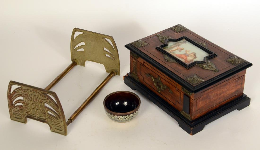 Neoclassical Style Wood Box