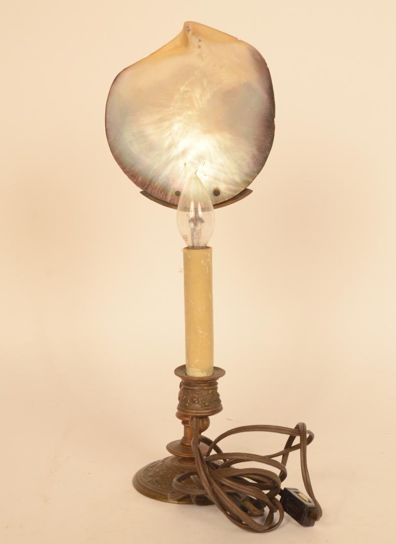 Gilt Metal Lamp