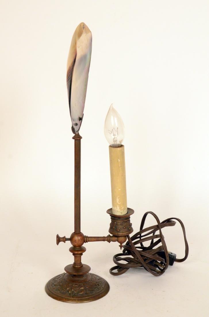 Gilt Metal Lamp - 2