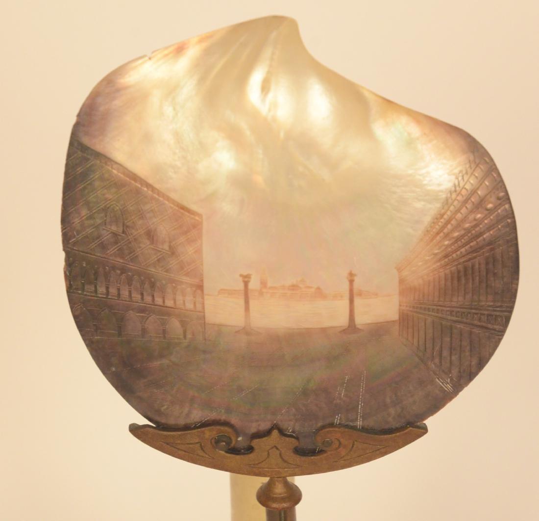 Gilt Metal Lamp - 3