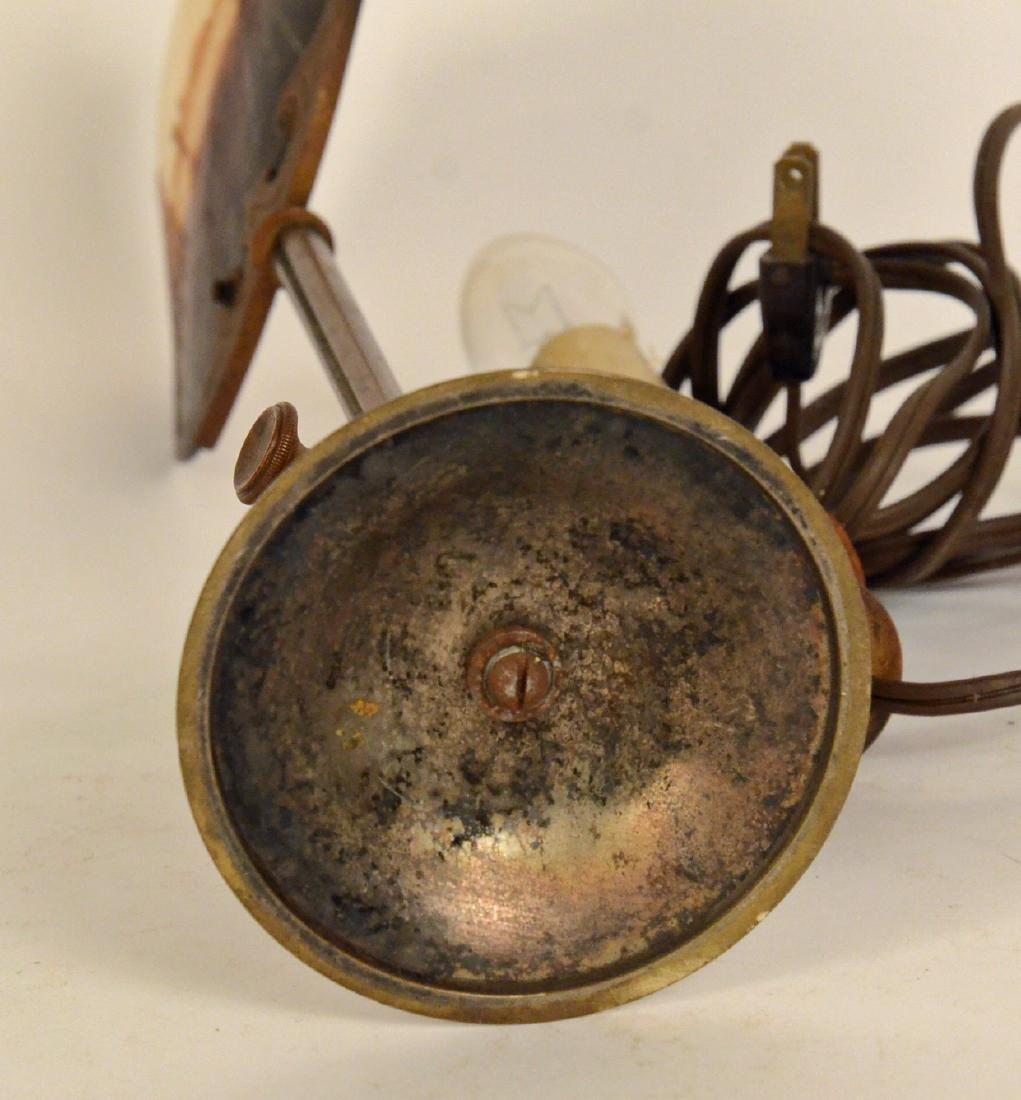 Gilt Metal Lamp - 5