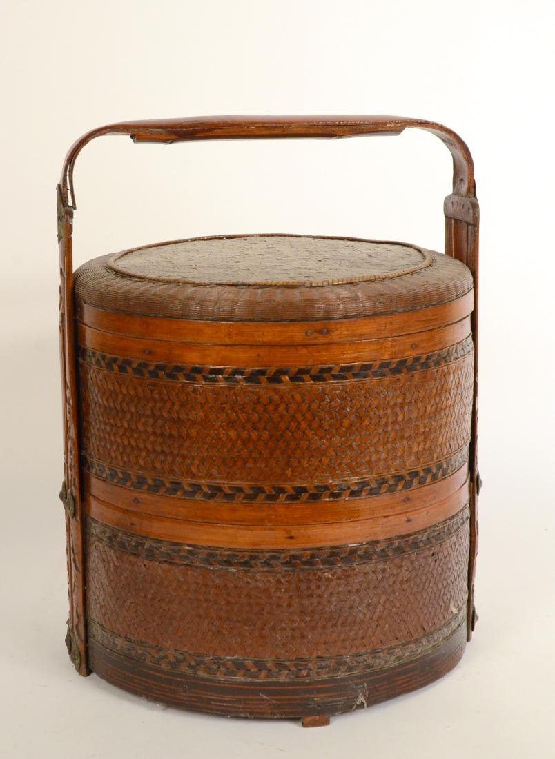 Chinese Cane Food Carrier
