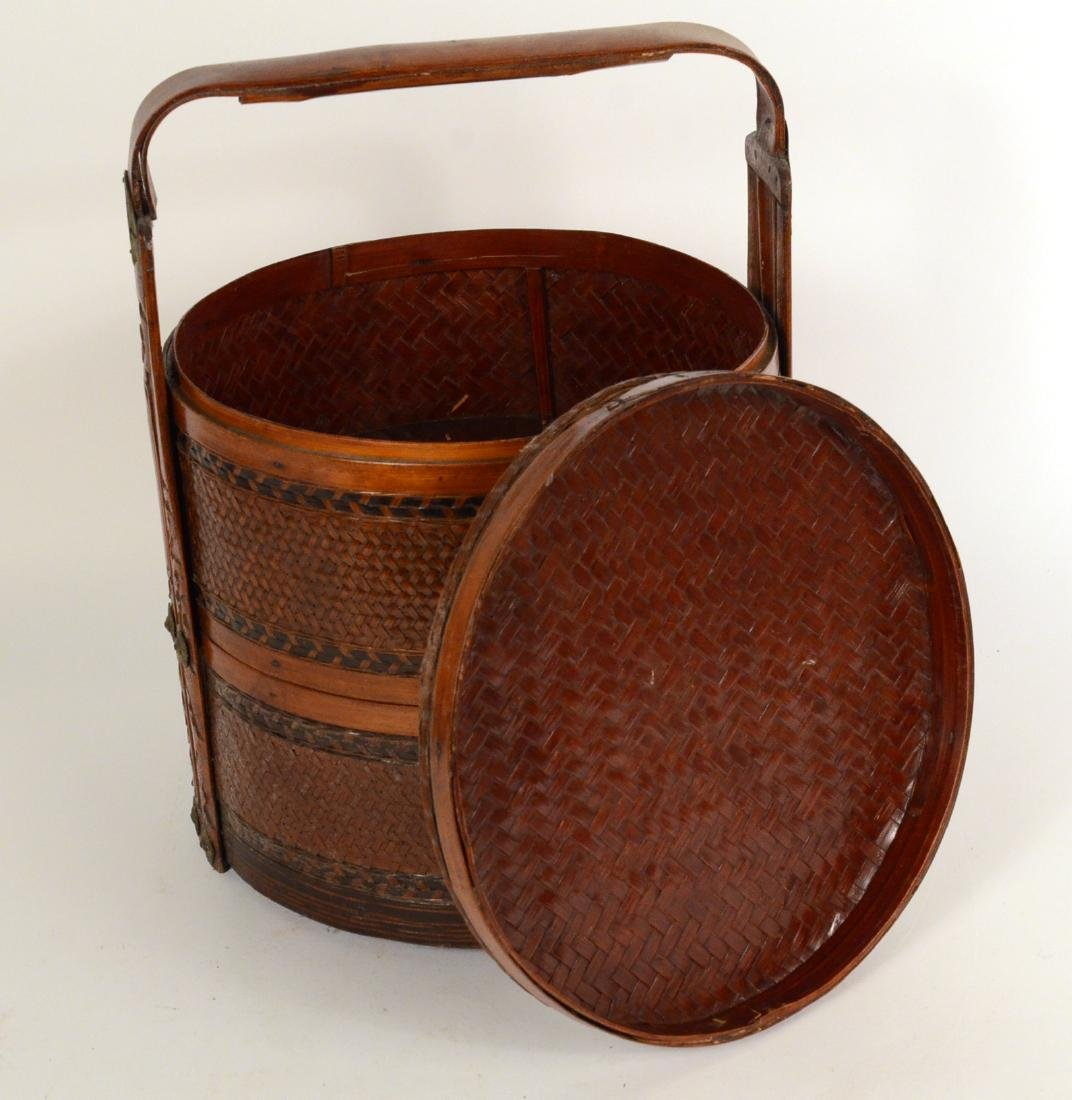 Chinese Cane Food Carrier - 3