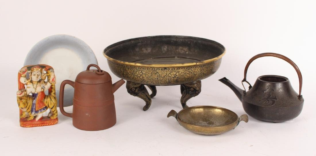 Assorted Group of South Asian Table Articles