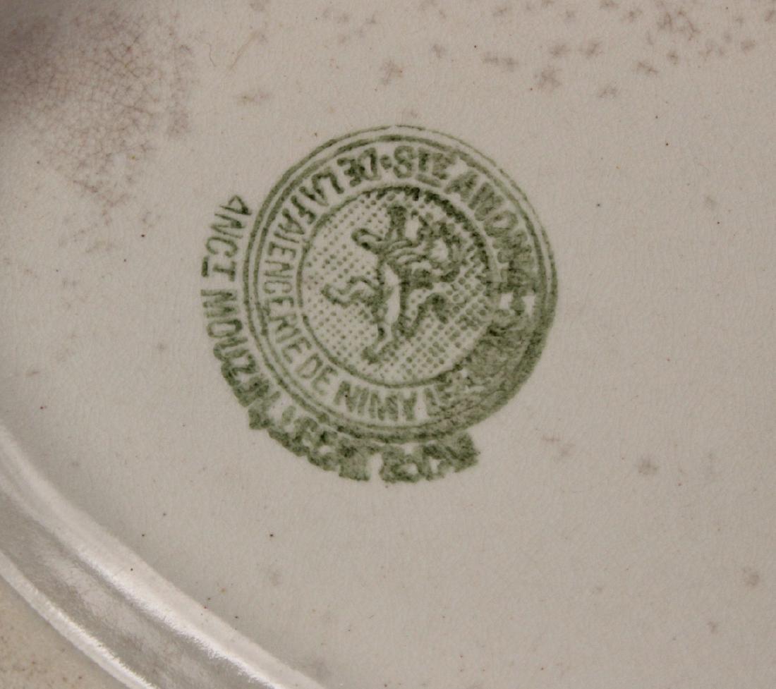 Creamware Chestnut Basket and Underplate - 9