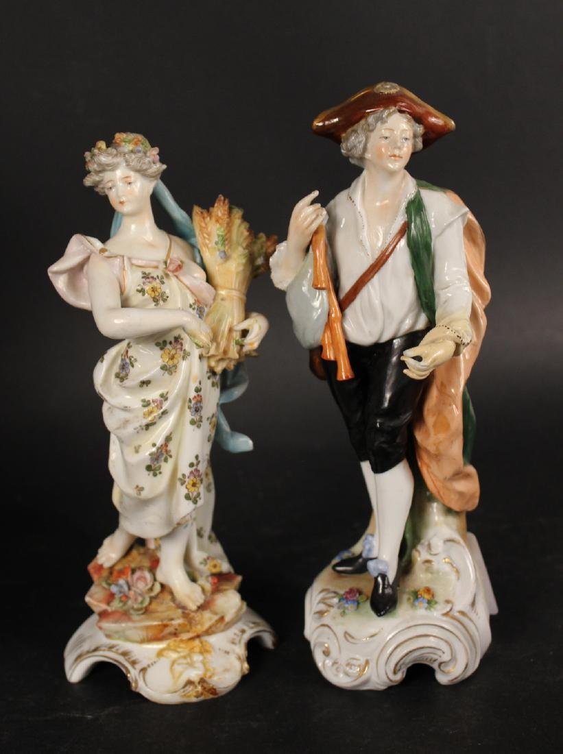 Six Porcelain Figurines - 4