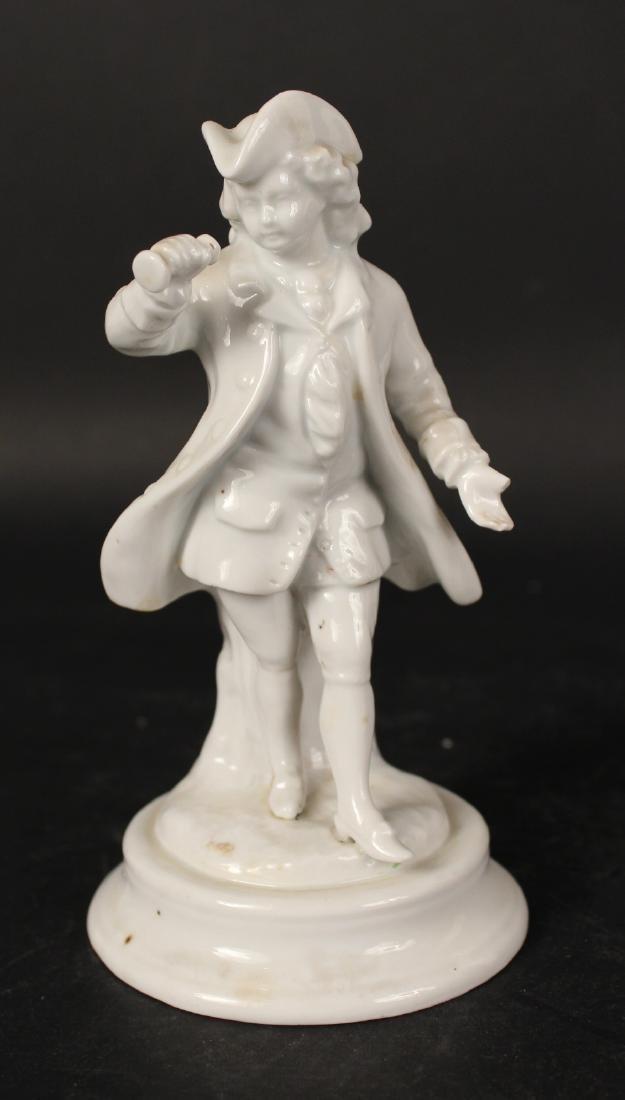 Four Blanc de Chine Porcelain Figures - 5