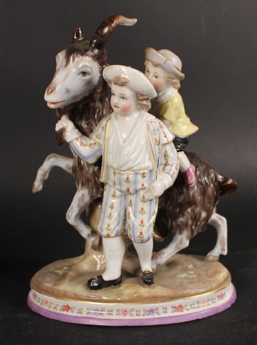 Four Porcelain Figures - 2