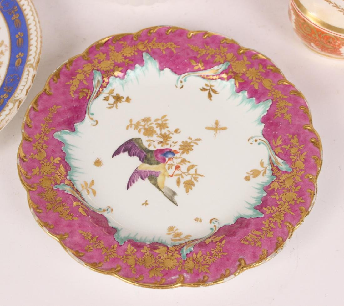 Group of Continental Porcelain Plates - 2