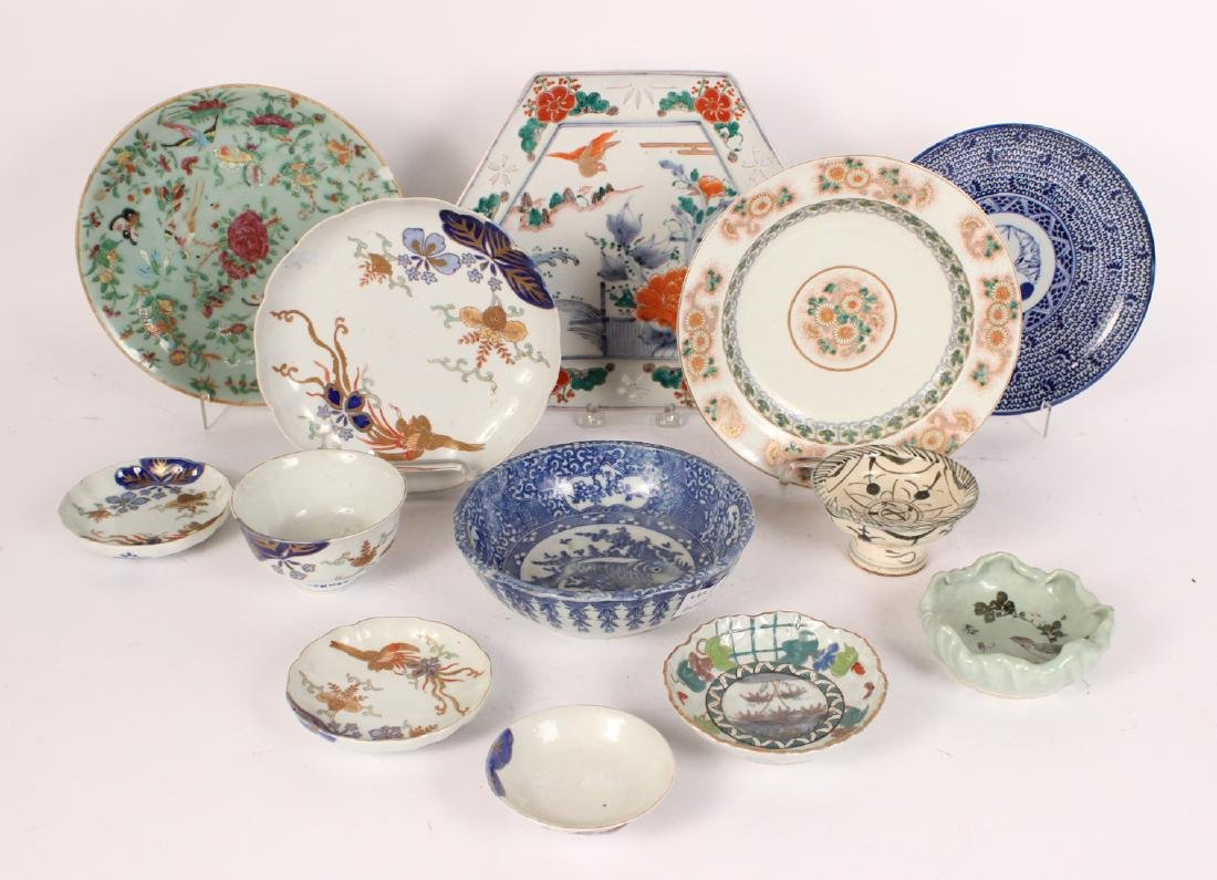 Group of Chinese Porcelain Table Articles