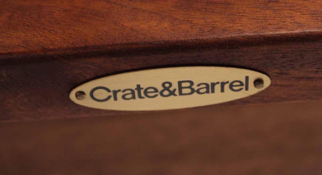 Pair Arts &Crafts Style Mahogany Slat Back Chairs - 4