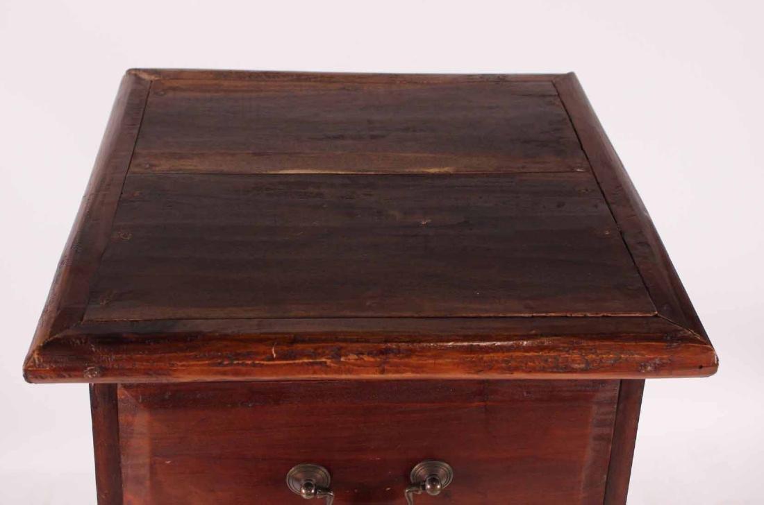Pair Arts &Crafts Style Mahogany Slat Back Chairs - 8