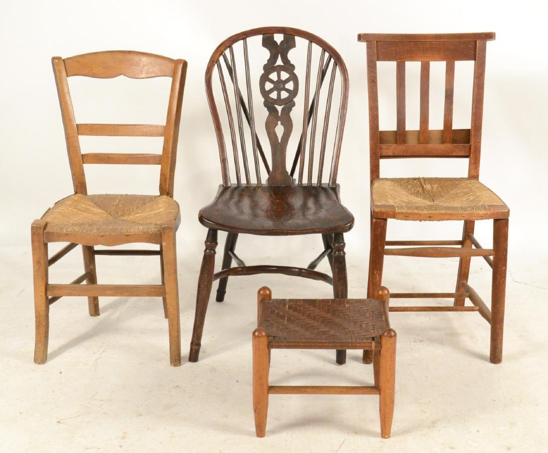 Group of Three Chairs
