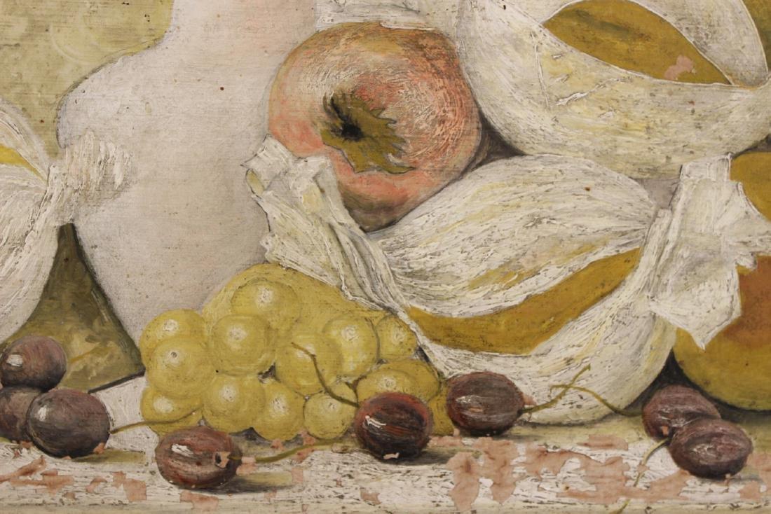 Oil on Board Fruit Still Life - 3