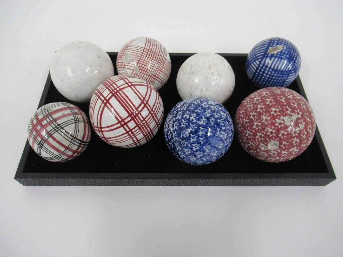 Eight Carpet Balls