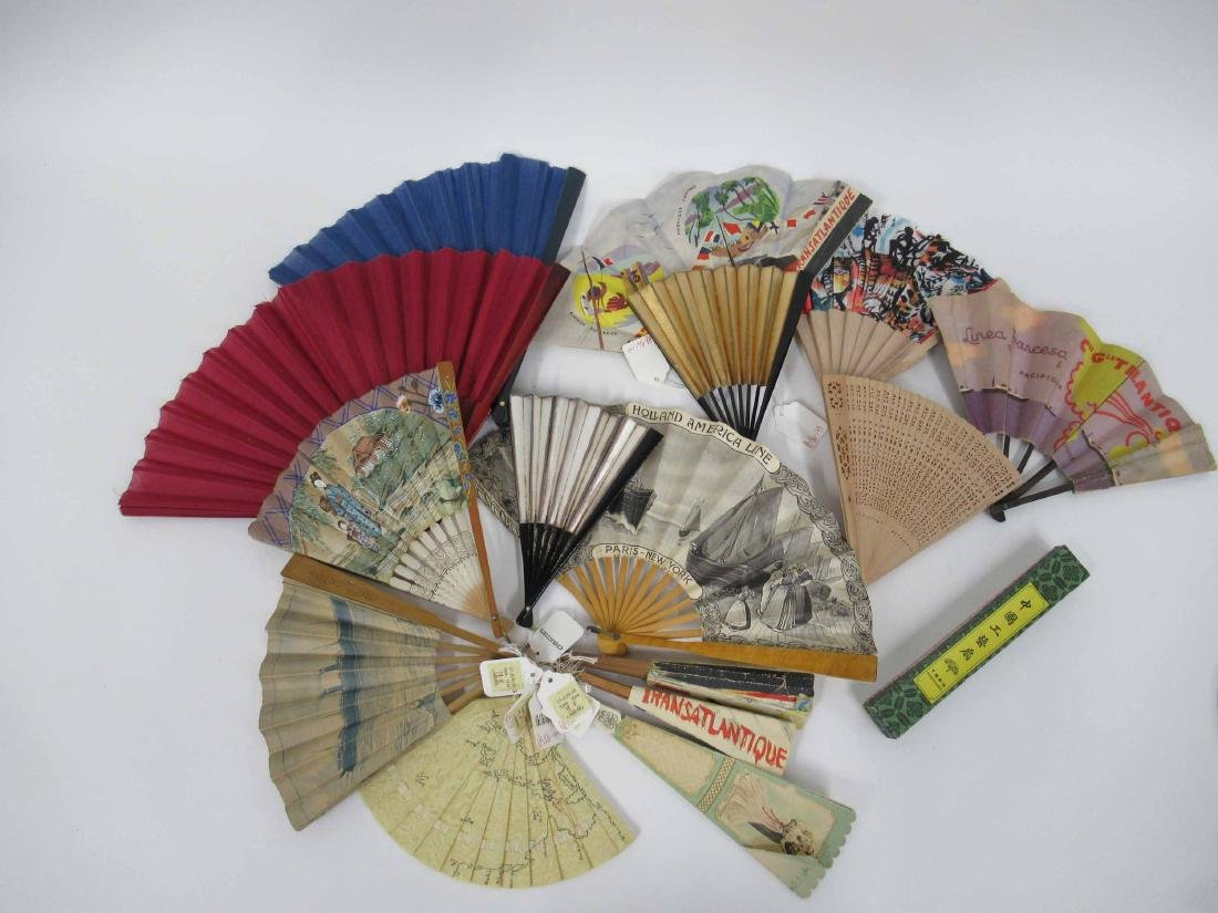 Group of Assorted Fans