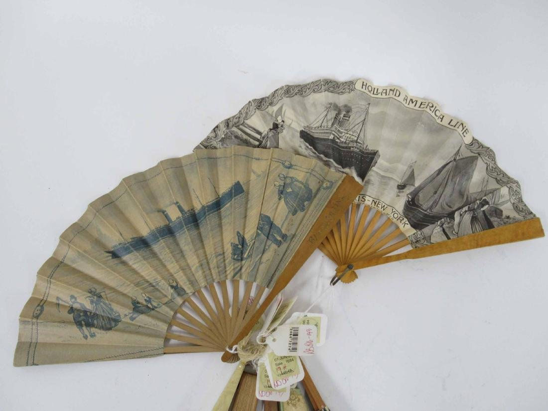 Group of Assorted Fans - 4