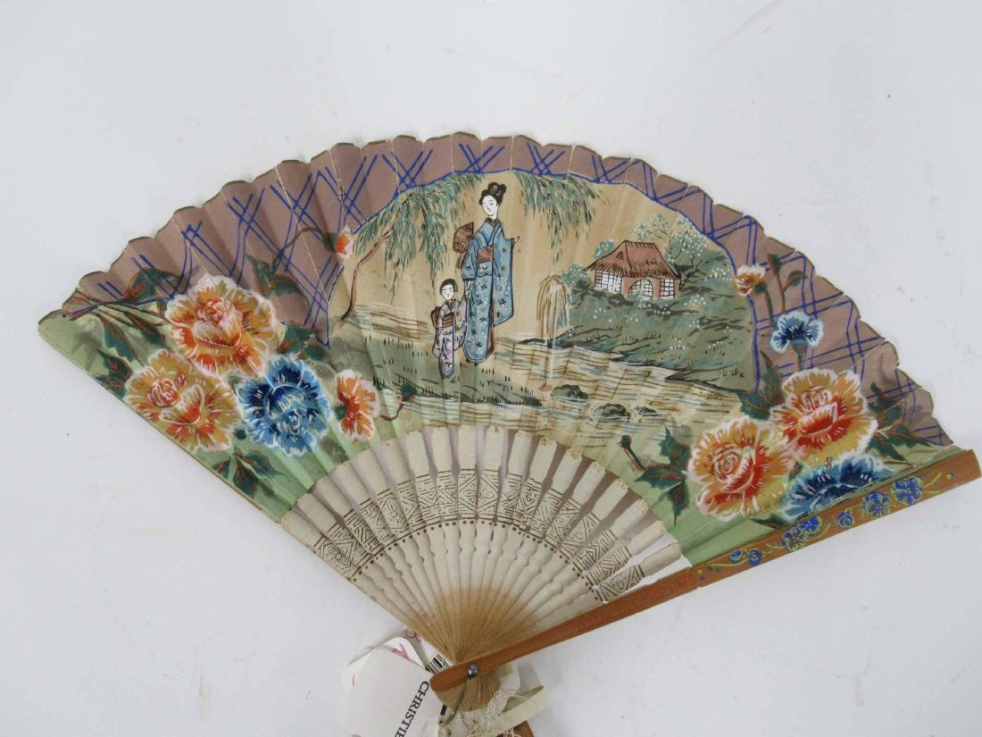 Group of Assorted Fans - 5
