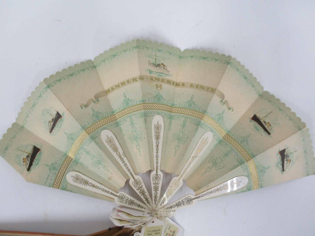 Group of Assorted Fans - 6