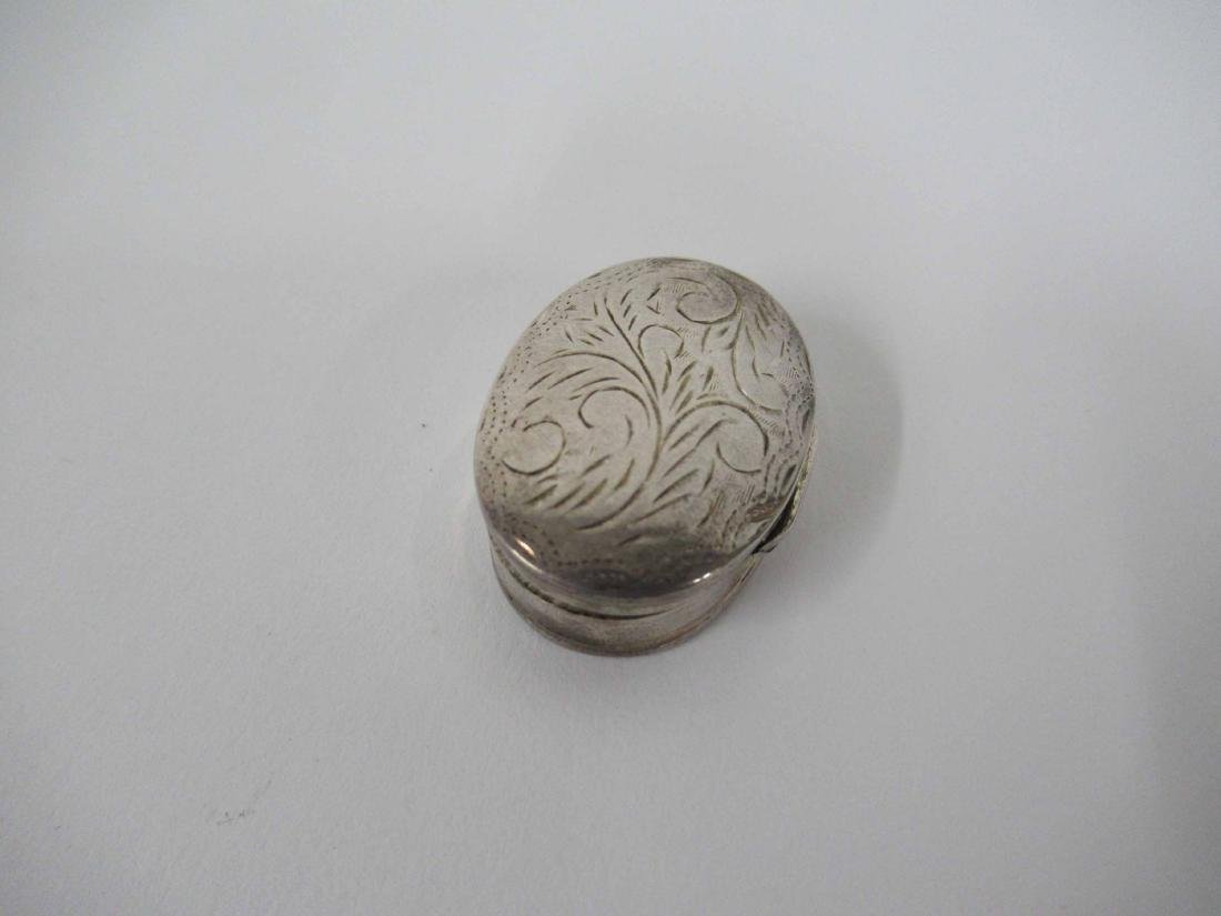 Three Sterling Silver Rattles - 5