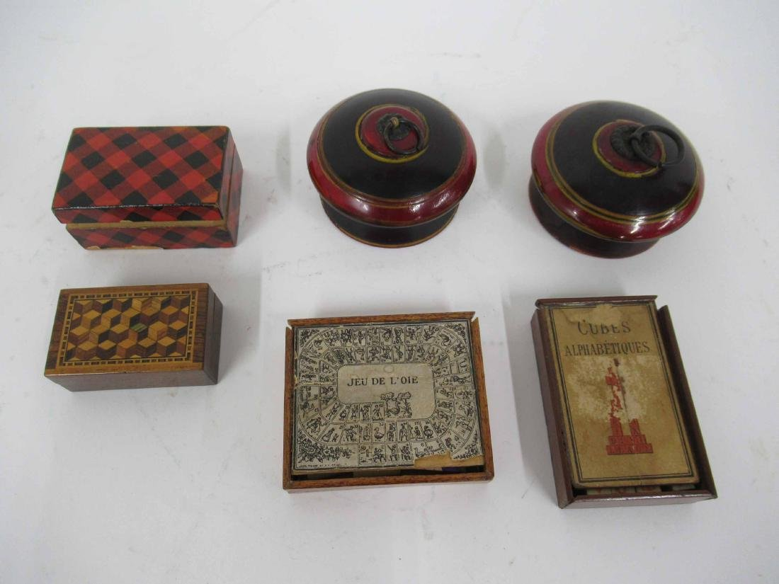 Four Game/Puzzle Boxes