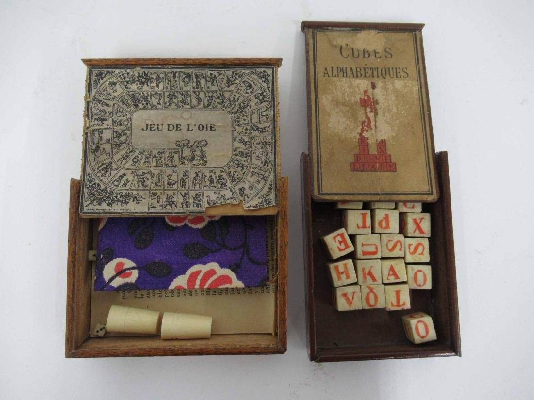 Four Game/Puzzle Boxes - 2