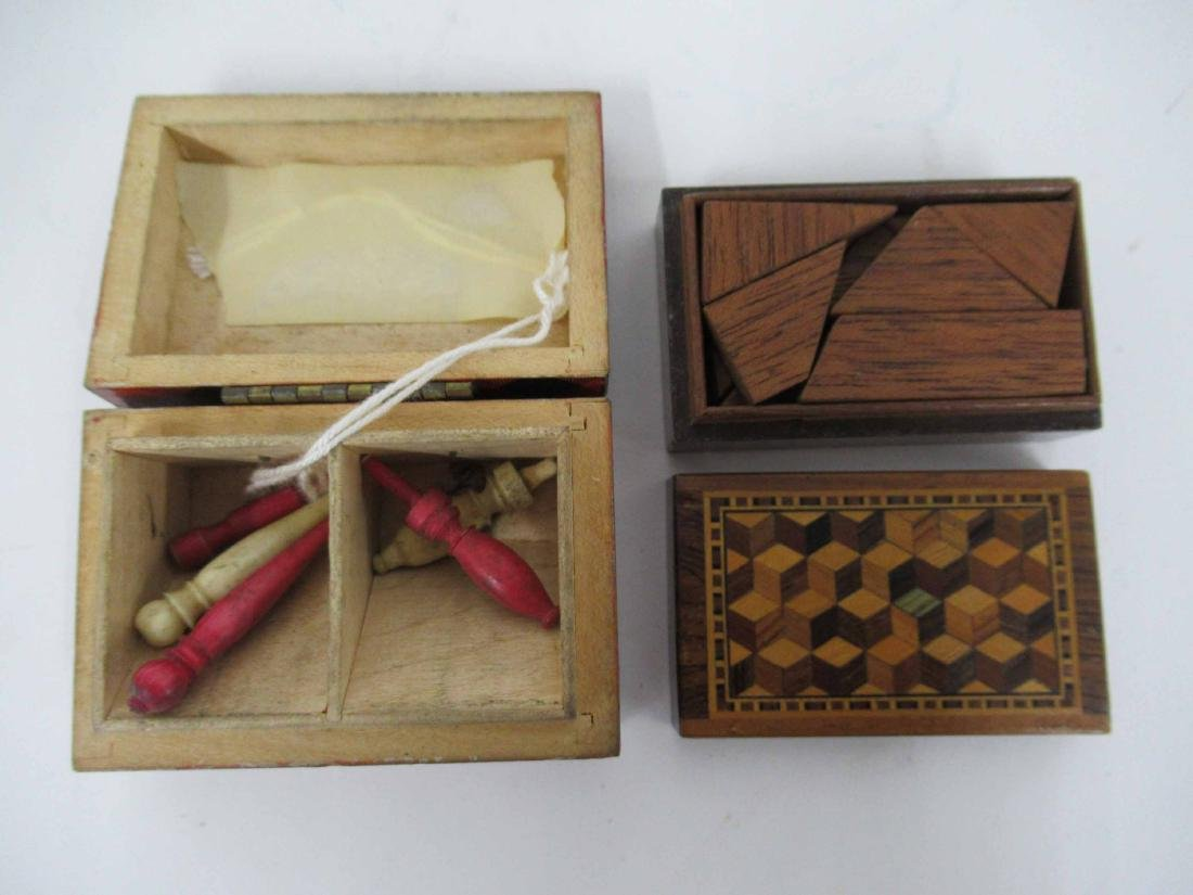 Four Game/Puzzle Boxes - 3