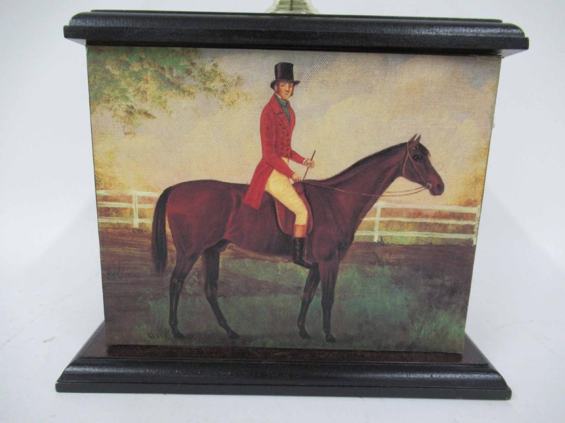 Equestrian Motif Table Lamp - 2