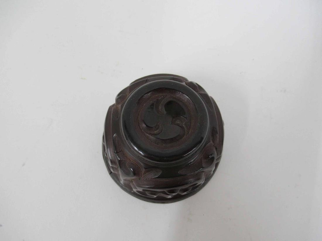 Chinese Guri Lacquer Tea Cup - 4