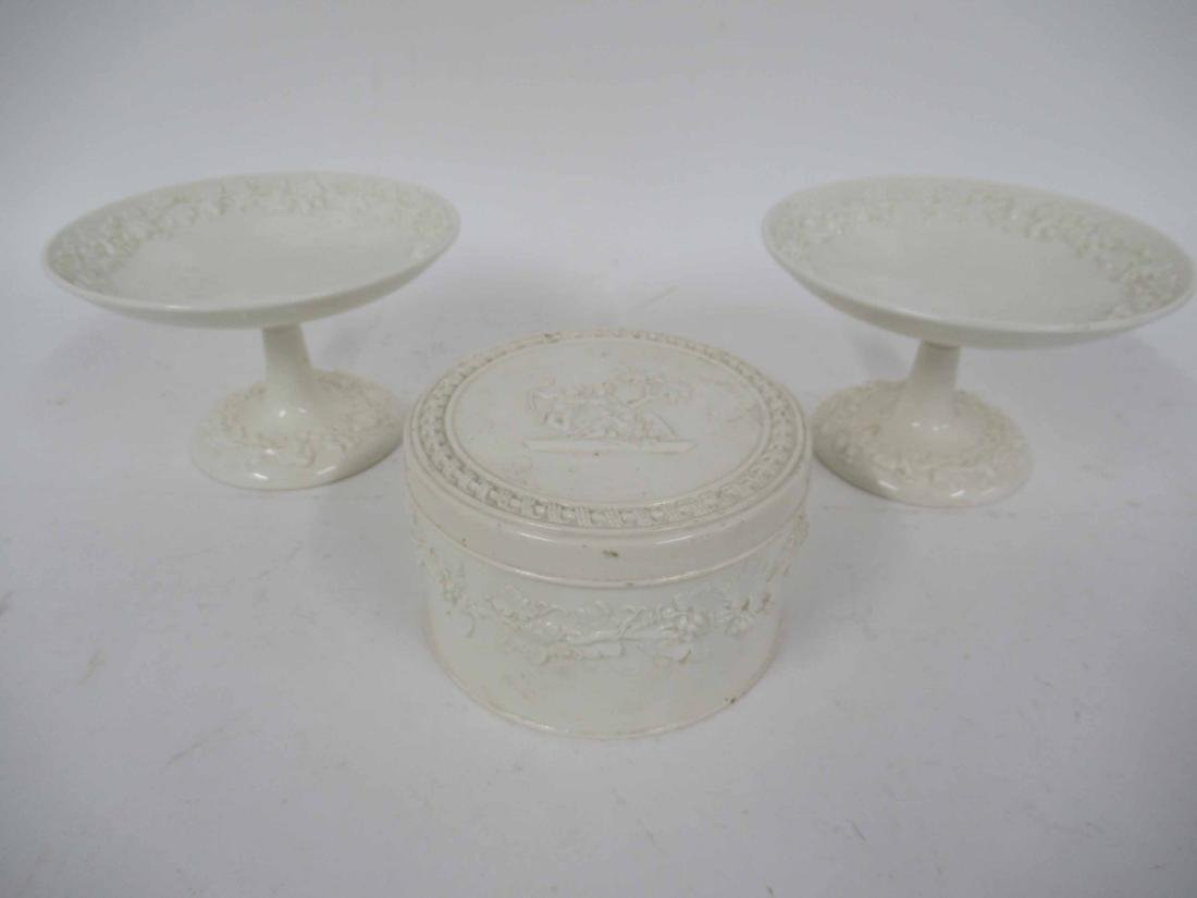 Three Wedgwood Queensware Articles