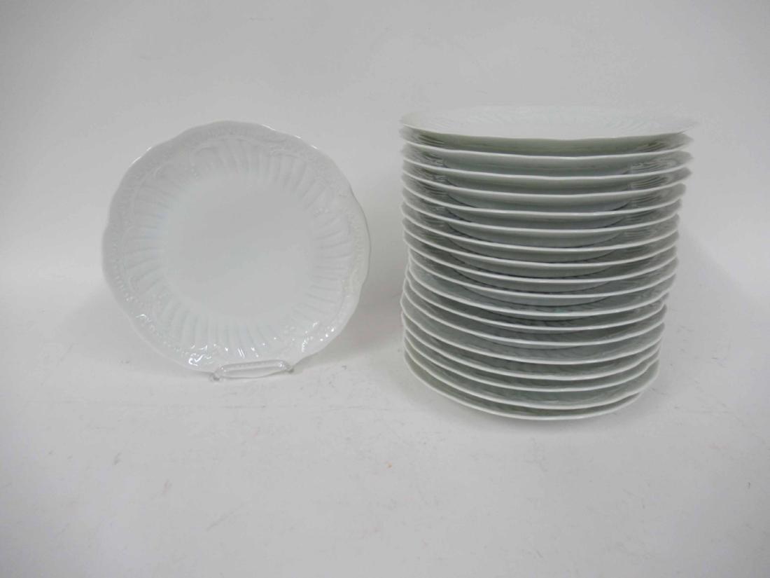 Nineteen Limoges Porcelain Dinner Plates - 2