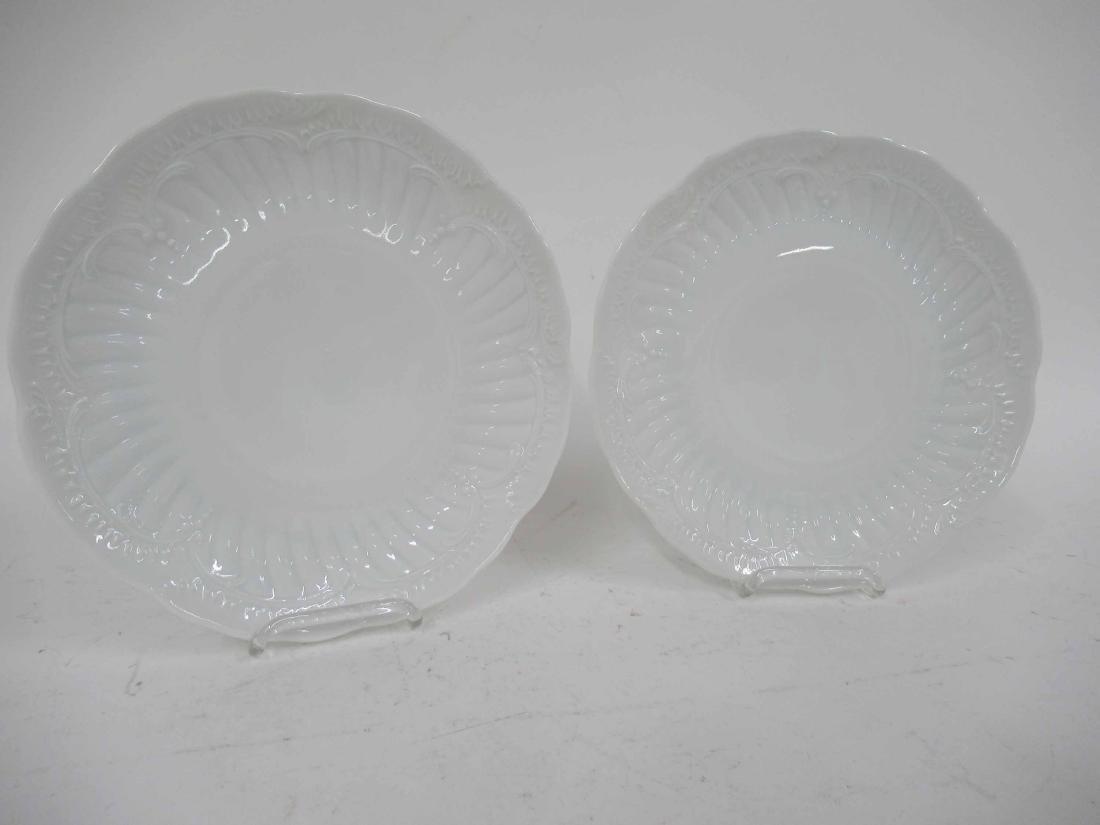 Nineteen Limoges Porcelain Dinner Plates - 4