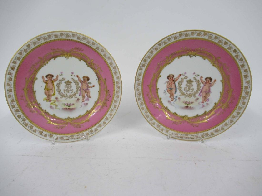 Two German Porcelain Plates