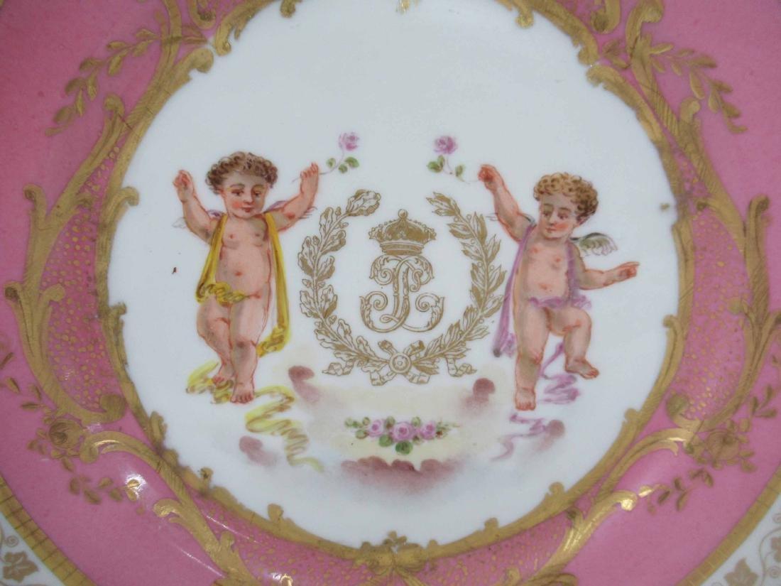 Two German Porcelain Plates - 2