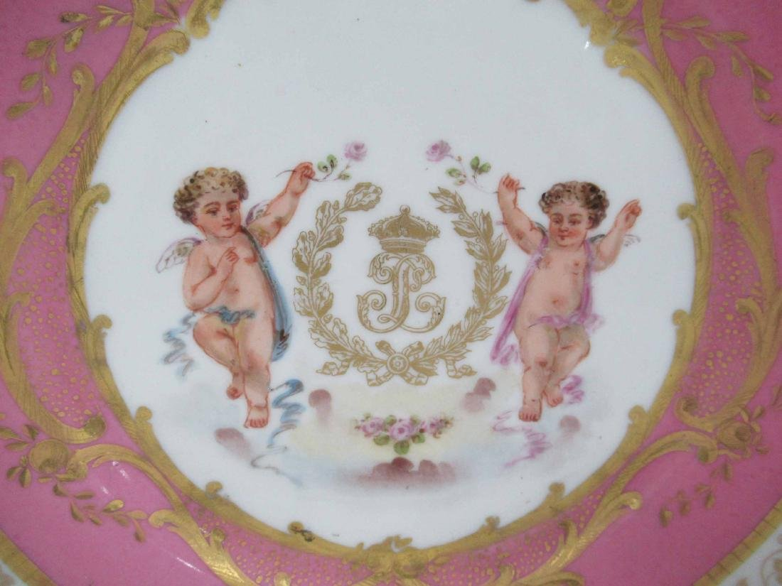 Two German Porcelain Plates - 3