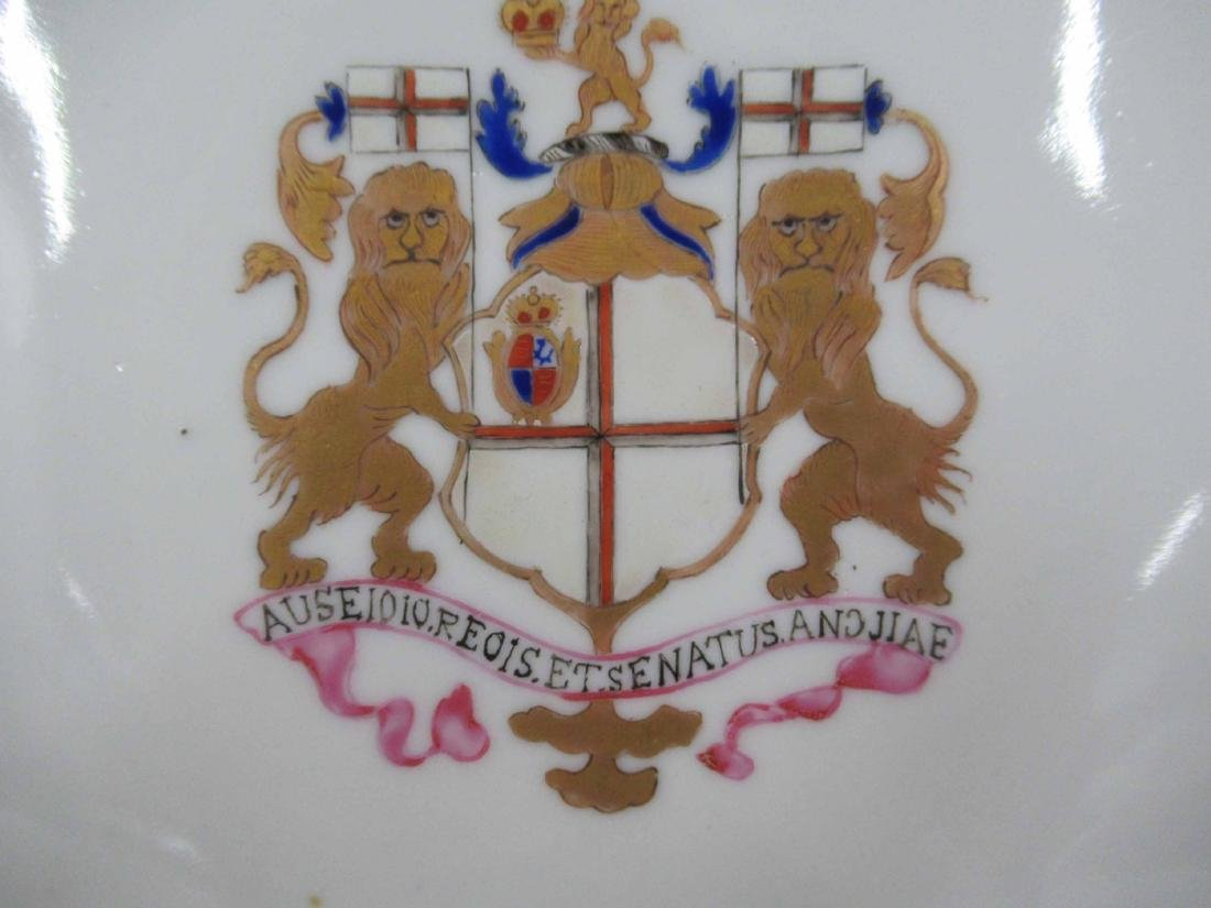 Chinese Armorial Porcelain Plate - 2
