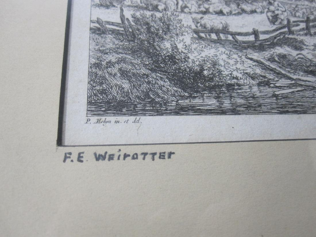 Two Wairotter Engravings - 2