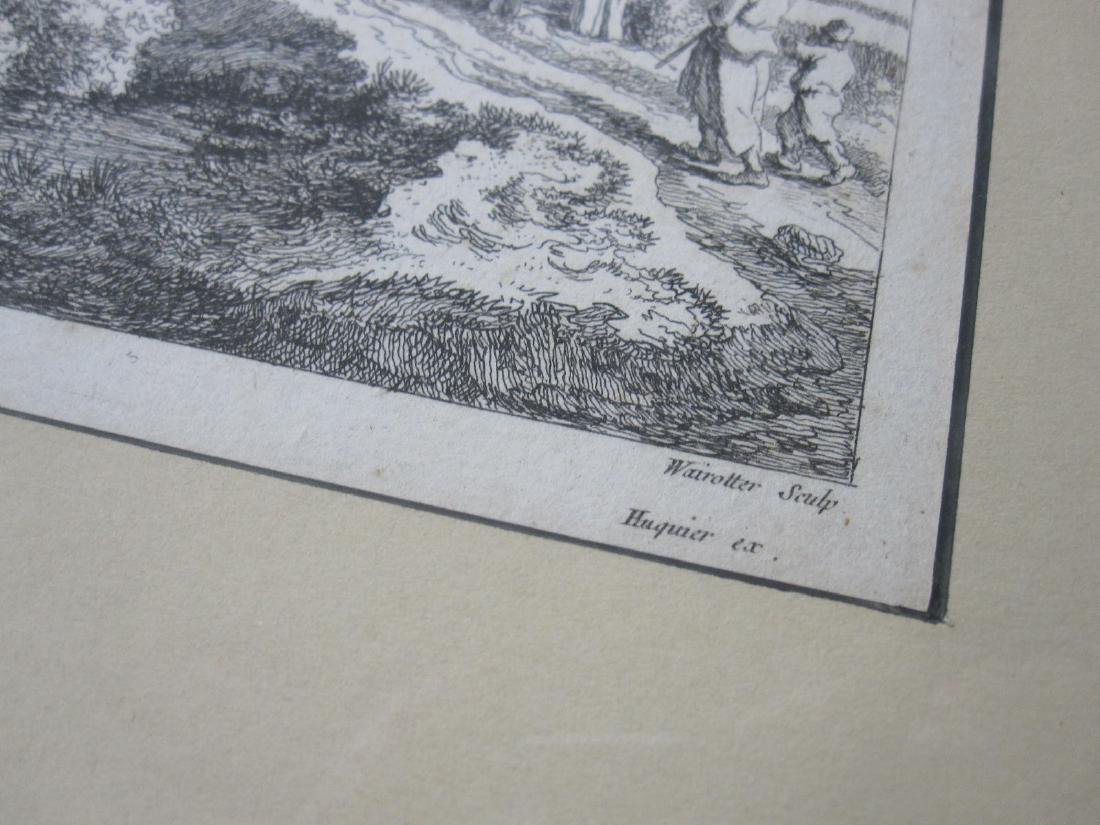 Two Wairotter Engravings - 3