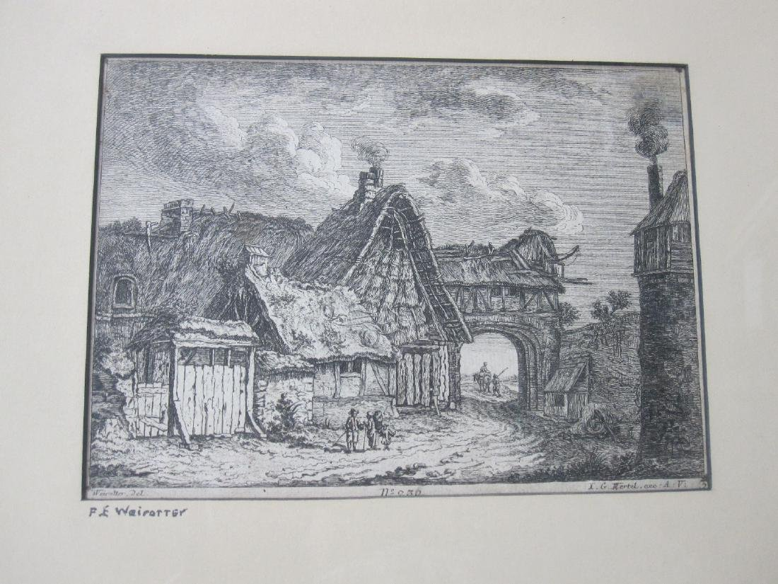 Two Wairotter Engravings - 5