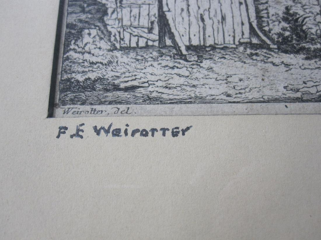 Two Wairotter Engravings - 6